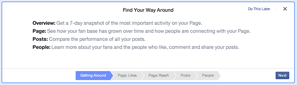New Facebook Analytics
