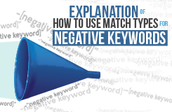 AdWords Exact Match Negative